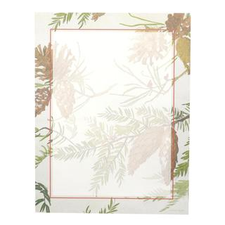Pinecone Paper Holiday Stationery (Case of 80)