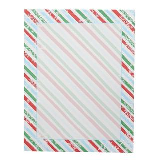 Stripes and Snowflakes Holiday Stationery (Case of 40)