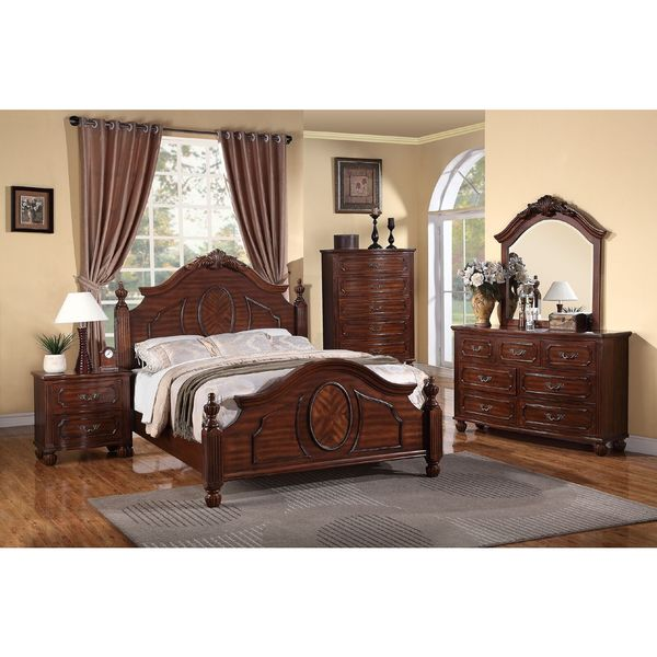 Luciano 5 Piece Bedroom Set Free Shipping Today 19720270