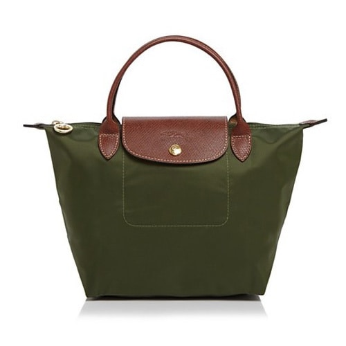 a2b1858908 Shop Longchamp Le Pliage Green Nylon Small Foldable Shoulder Tote Bag -  Free Shipping Today - Overstock - 12971793