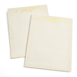 Gold Dove Holiday Foil Stationery (Case of 40)