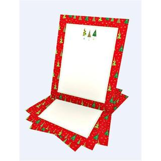 Gartner Studios Red/White Paper Holiday Stationery (Case of 100)