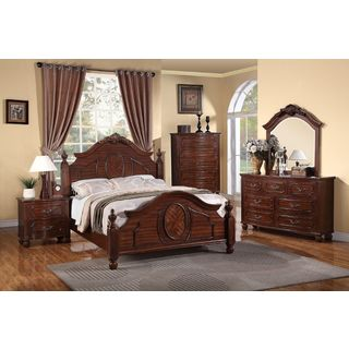 Luciano 6 Piece Bedroom Set (2 options available)