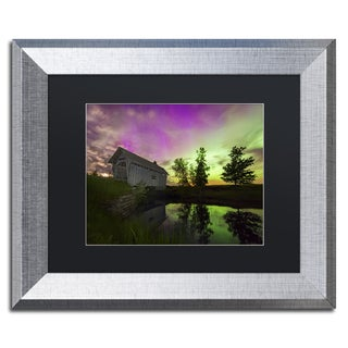 Michael Blanchette Photography 'The Color of Night' Matted Framed Art