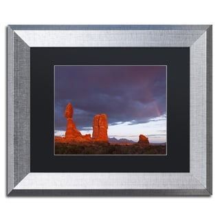 Michael Blanchette Photography 'Storm Aftermath' Matted Framed Art