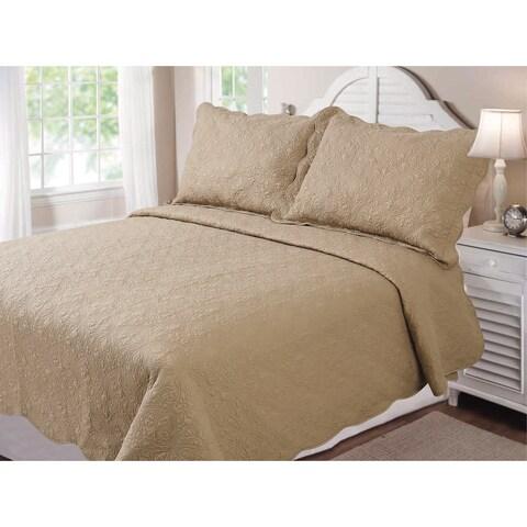 Arcadia 3-piece Quilt Set