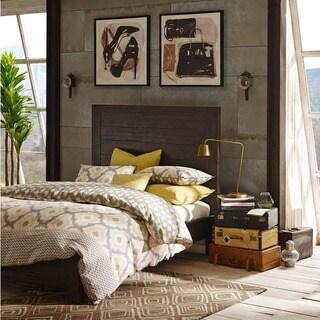 INK+IVY Monterey Espresso Brown Wooden King Bed