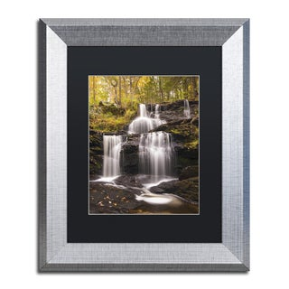 Michael Blanchette Photography 'Autumn Horsetails' Matted Framed Art