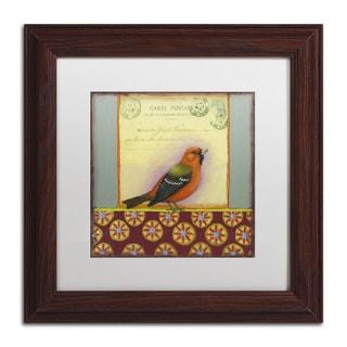 Rachel Paxton 'Small Bird 175' Matted Framed Art