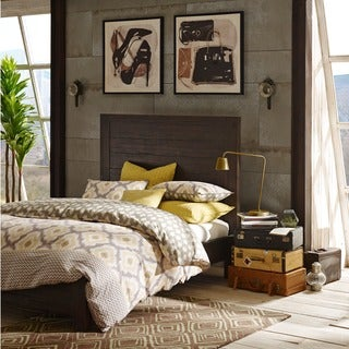 INK+IVY Monterey Espresso Brown Wooden Queen Bed