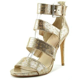 Vince Camuto Women's 'Rittel' Gold Leather Dress Shoes