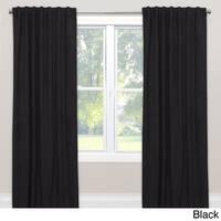 Skyline Velvet Single Curtain Panel