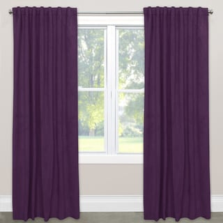 Skyline Velvet Blackout Window Curtain Panel