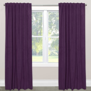 Skyline Velvet Polyester Blackout Window Curtain Panel