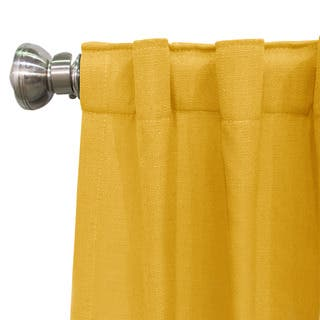 Skyline Linen Blackout Window Curtain Panel