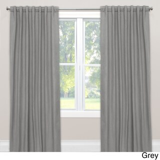 Skyline Linen Blackout Window Curtain Panel (More options available)
