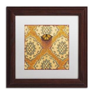 Rachel Paxton 'Abels Hill Monarch' Matted Framed Art