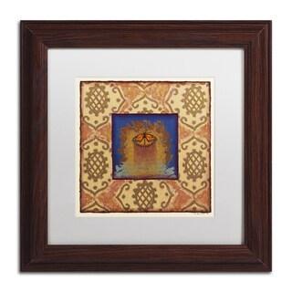 Rachel Paxton 'Myrtle St. Monarch' Matted Framed Art