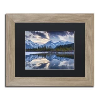 Michael Blanchette Photography 'Vermillion' Matted Framed Art