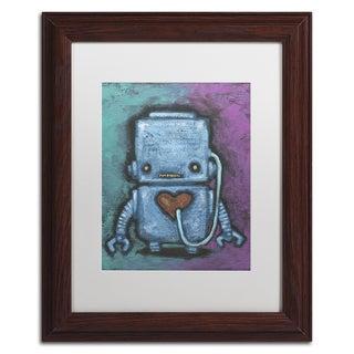 Craig Snodgrass 'Weebot-Heart' Matted Framed Art