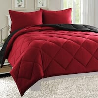 Porch & Den Kalivas Merrimack All-season Reversible 3-piece Comforter Set