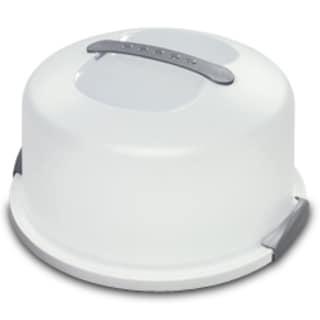"""Sterilite 02008004 13.5"""" X 8"""" White Cake Server"""