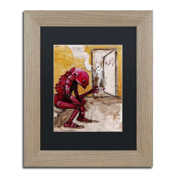 Craig Snodgrass 'Obsolete' Matted Framed Art