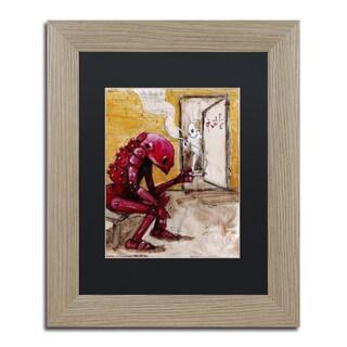 Craig Snodgrass 'Obsolete' Matted Framed Art
