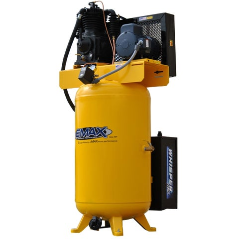 EMAX Industrial Plus 5 HP 3 PH 80 GALLON VERTICAL WITH AIR SILENCER
