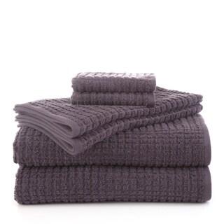 Martex Staybright Textured 6-Piece Towel Set