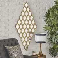 Bliss Accent Mirror by Christopher Knight Home - Gold/Copper