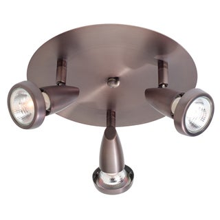 Access Lighting Mirage 3-light Bronze Spotlight