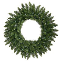 Vickerman Camdon Fir Green 30-inch Artificial Wreath With 170 Tips