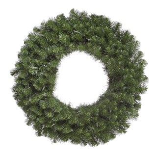 Vickerman's Green 36-inch Douglas Fir Wreath with 320 Tips
