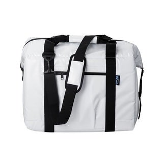 Norcross NorChill White PVC 24-can Soft-sided Cooler Bag