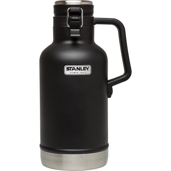 Stanley Classic Matte Black 64-ounce Vacuum Growler