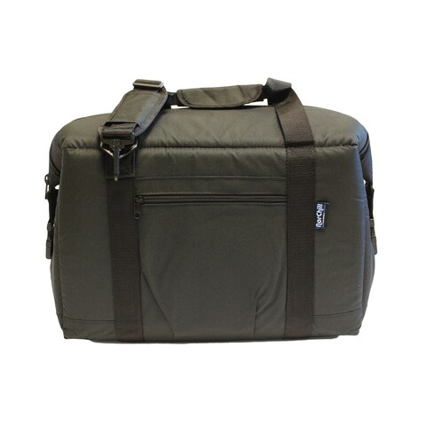 NorChill Solid-colored Nylon 24-can Cooler Bag