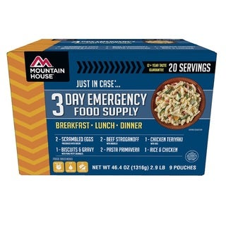 Mountain House 3-day Emergency Food Supply For One Person