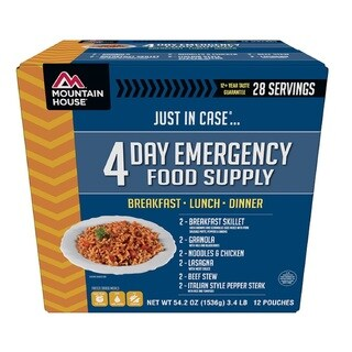 Mountain House Emergency 4-day Supply For One Person