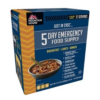 Mountain House Emergency 5-Day Supply For One Person