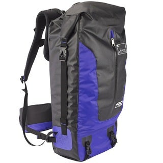Lewis N Clark Unisex Blue Fabric 40-liter Day Pack