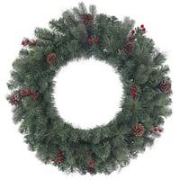 Vickerman 30-inch 165-tip Wesley Mixed Pine Wreath