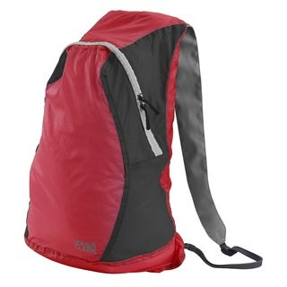 Red/Charcoal Nylon ElectroLight Backpack