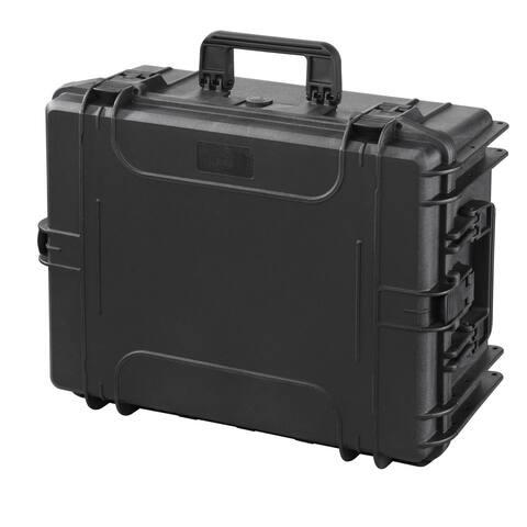 MAX Case Plastica MAX540H245STR Black Polypropylene 23.78-inch x 18.62-inch x 11.14-inch Waterproof Tackle Box