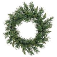 24-inch Imperial Pine Wreath with 100 Tips