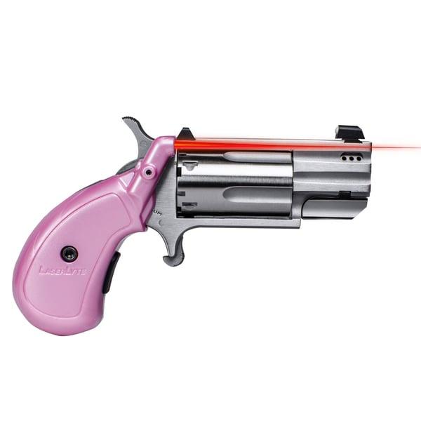 Laserlyte Pink V-Mag Grip .22 Magnum Laser Sight