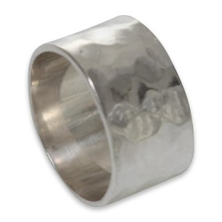 Handcrafted Sterling Silver 'Fusion' Ring (Indonesia)