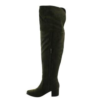 NATURE BREEZE FF00 Women Over The Knee Mid High Block Heel Boots