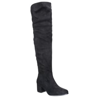 NATURE BREEZE FF00 Women Over The Knee Mid High Block Heel Boots