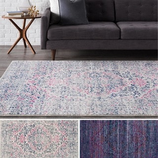 Meticulously Woven Bluebell Rug (7'10 x 10'3)